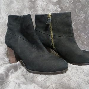 Cole Haan Nike Air Black Ankle Boots
